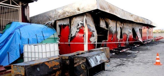 Fabrika yatakhanesinde yangın: 3 işçi öldü