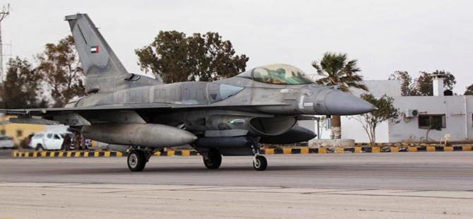 Birleşik Arap Emirlikleri IŞİD'i bombalamaya başladı
