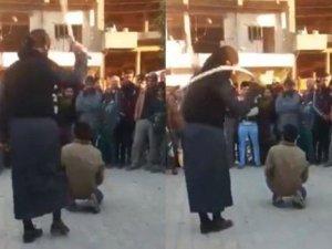IŞİD'den 'Daeş' diyen çocuğa kırbaç