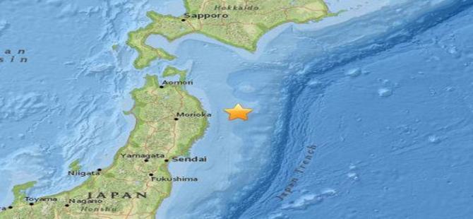 Japonya'da 6.9 şiddetinde deprem!