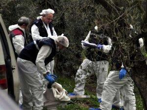 Manisa'da yanmış bir kadın cesedi bulundu