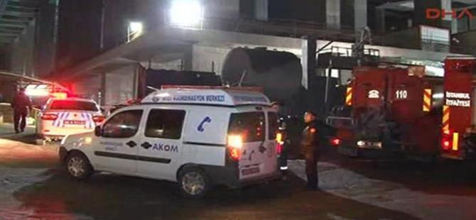 Mecidiyeköy'de işçi kazası!