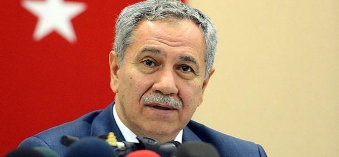 Arınç: CHP, MHP ve HDP koalisyonu denemeli