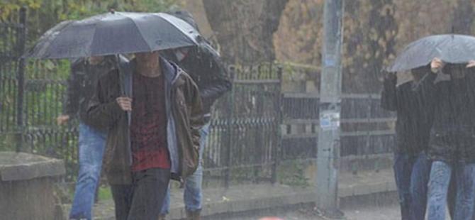 Üç il için şiddetli yağış uyarısı!