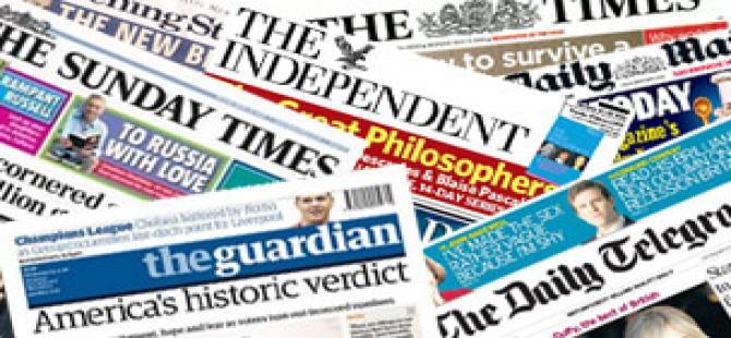 2 Mart İngiltere basın özeti