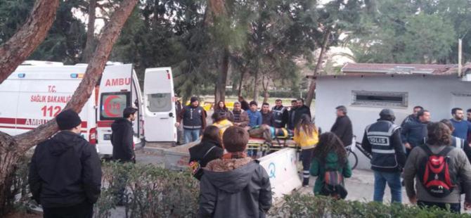 Ege Üniversitesi'nde gerginlik: 19 gözaltı