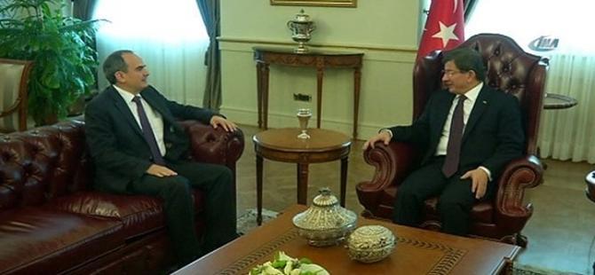 Başbakan Davutoğlu, Erdem Başçı ile görüştü