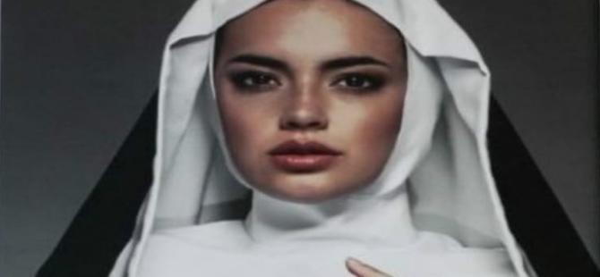 Papa'nın ziyareti öncesi ilginç reklam
