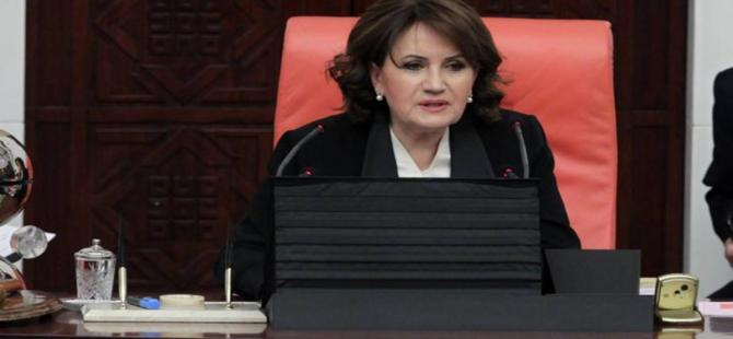 Meral Akşener, milletvekillerine veda etti
