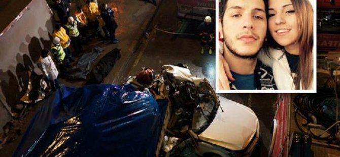 Trafik kazası: 3 ölü