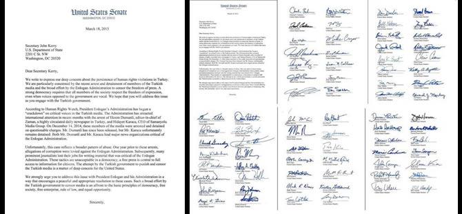 74 Senatör'den John Kerry'e 'Hidayet Karaca...' mektubu!