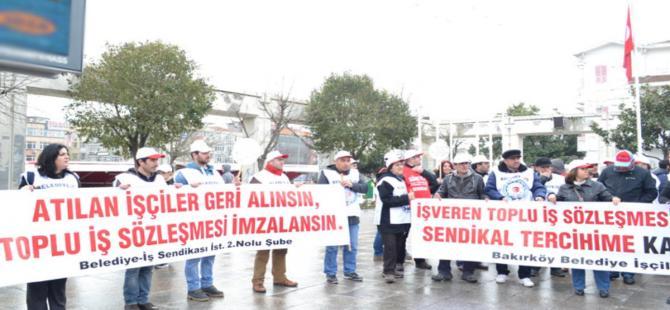 Bakırköy Belediyesi'nde grev kararı