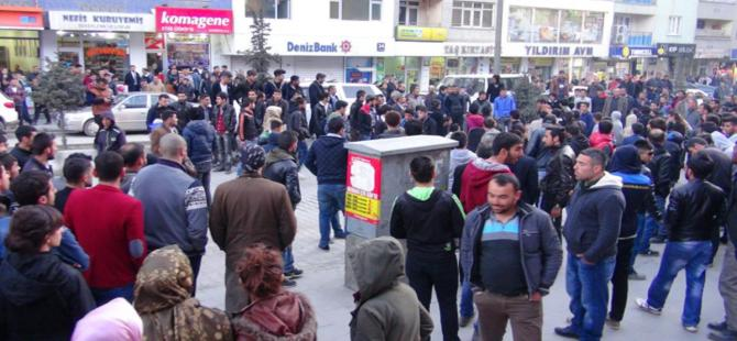 Hakkari'de DBP'li gözaltına alınınca gerginlik çıktı