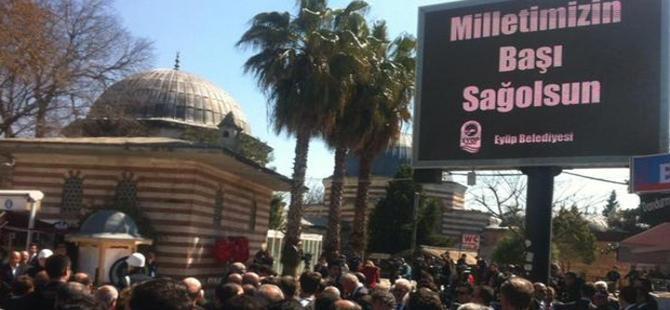 Bazı gazetelerin muhabirleri cenaze törenine alınmadı