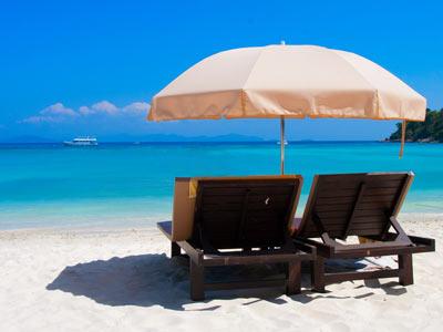 Sıcaklarda ve Yağmurlu Havada Çözüm Plaj Şemsiyesi