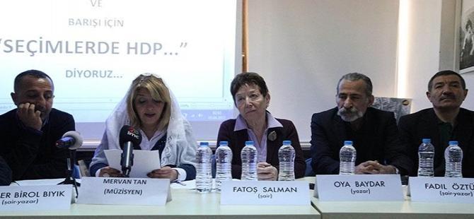 800 aydın ve yazardan HDP'ye destek açıklaması