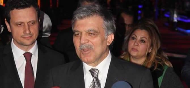 Abdullah Gül'den 'aday' açıklaması