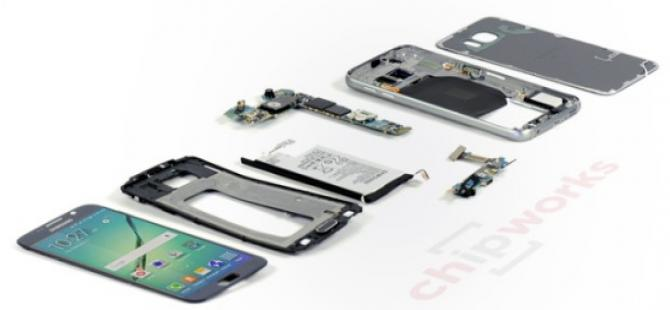 Galaxy S6'nın içinde neler var?
