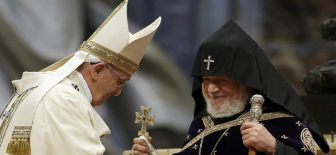 İngiliz basınında Papa'nın 'Ermeni Soykırımı' çıkışı