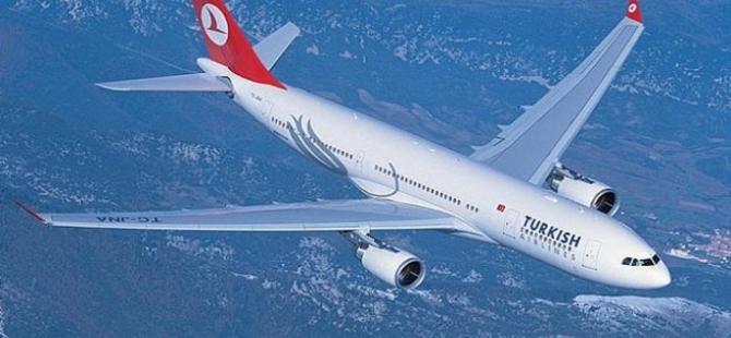 THY uçağının motoruna kuş girdi, uçak geri döndü