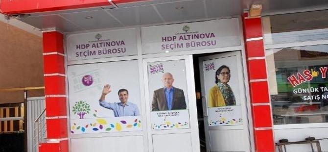 HDP seçim bürosuna silahlı saldırı!