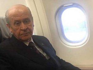 Devlet Bahçeli uçak korkusunu yendi!