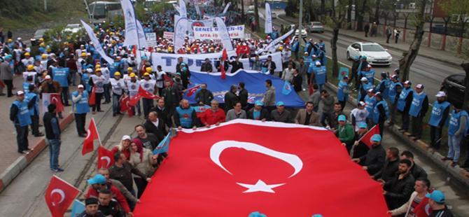 Türk-İş'ten alternatif 1 Mayıs kutlaması
