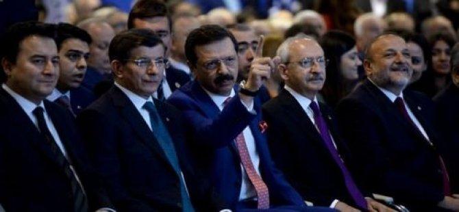 Davutoğlu muhalefetin vaatlerini eleştirdi