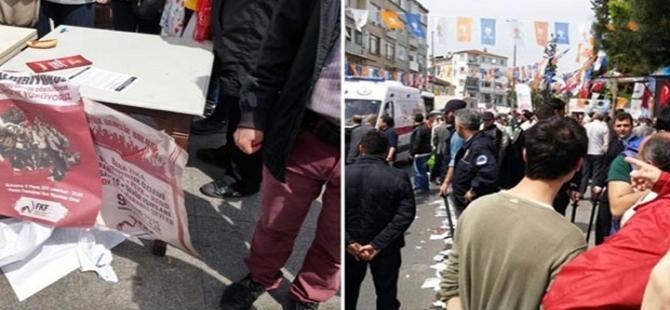 AKP'liler ile Birleşik Haziran Hareketi üyeleri kavga etti