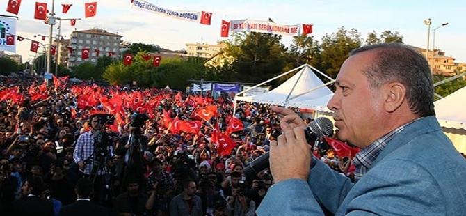 Erdoğan muhalefete yüklendi