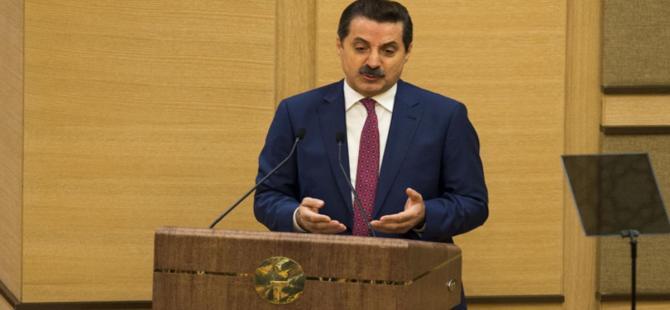"""Bakan Faruk Çelik: """"AK Parti'nin lideri Erdoğan'dır"""""""