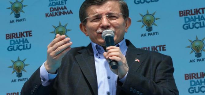 """Başbakan Davutoğlu:""""Seçimi kaybeden lider istifa etsin"""""""