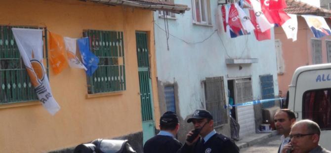 AK Parti ve CHP'li iki komşunun bayrak asma kavgası