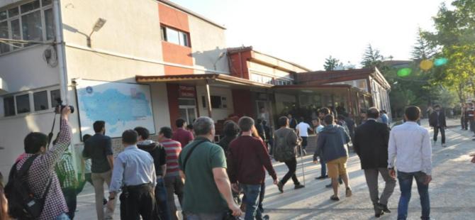 HDP'li Tuncel'in katıldığı toplantı sonrasında olaylar çıktı