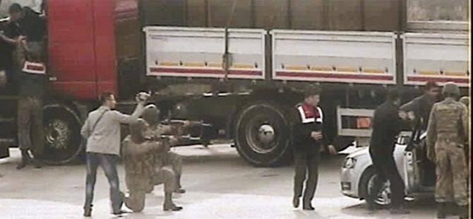Jandarmaya MİT TIR'ları operasyonu, 10 gözaltı