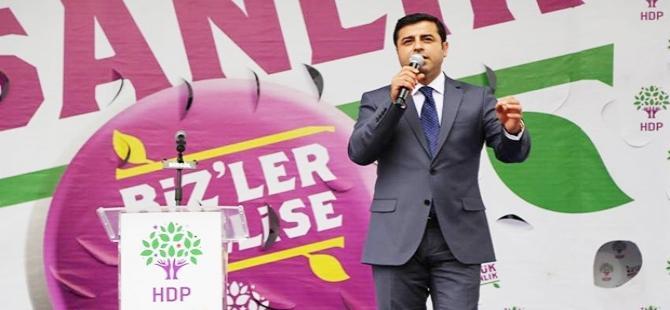 Demirtaş'tan Erdoğan'a: Saldırı mesajını aldık...