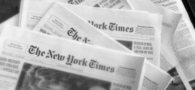 New York Times: Türkiye'deki atmosfer alışılmadık biçimde karanlık.
