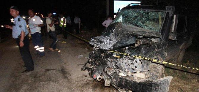 Adana'da trafik kazası: 5 ölü