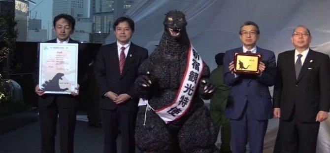 Godzilla'ya Japon vatandaşlığı verildi