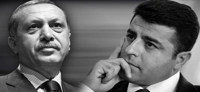 Erdoğan'dan Demirtaş'a: Neden telefonlarıma çıkmıyorsun...