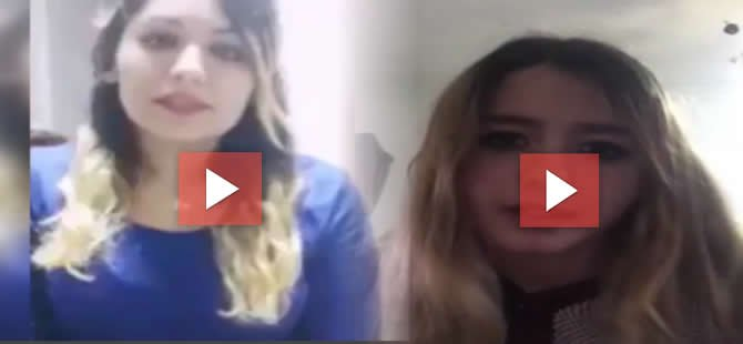 AKP'li ağlayarak beddua eden kıza MHP'li kızdan cevap!