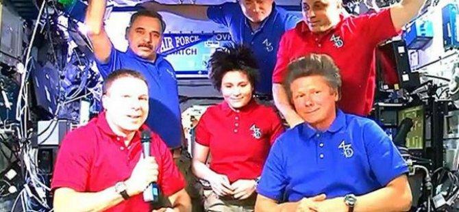 Uzaydan 199 gün sonra geri dönüş!
