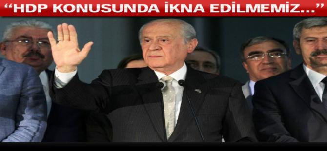 Devlet Bahçeli'den flaş koalisyon açıklaması