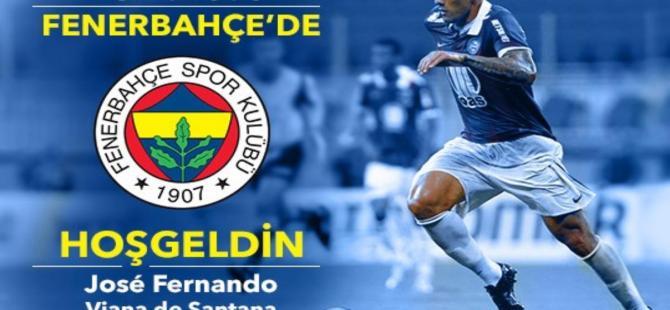 Fenerbahçe Fernandao'yu resmen duyurdu