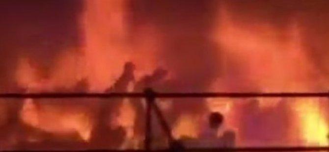 Eğlence parkında yangın: 214 yaralı