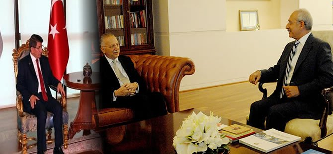 İhsanoğlu AKP ve CHP'yi ziyaret etti!