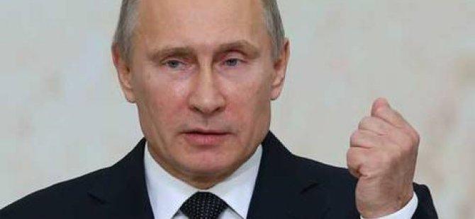 """Putin'den """"Suriye"""" uyarısı!"""