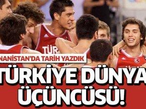 Türkiye dünya üçüncüsü!