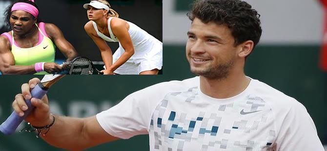 Ünlü tenisçilerin aşk üçgeni