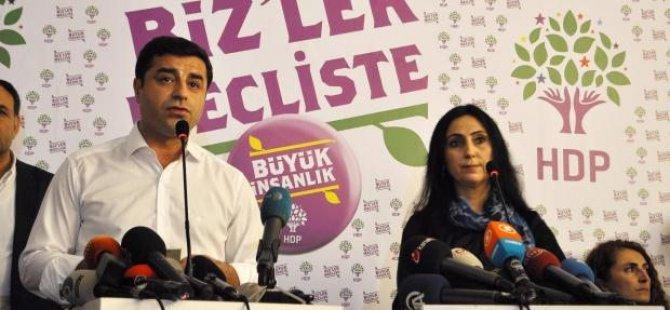 """HDP: """"IŞİD'in başını okşayan Ankara'daki yöneticiler..."""""""
